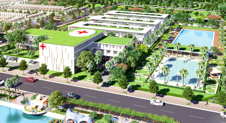 Bệnh viện nội khu Nam Phong Eco Park