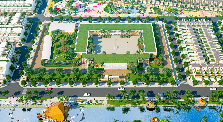 Trường học dự án Nam Phong Eco Park