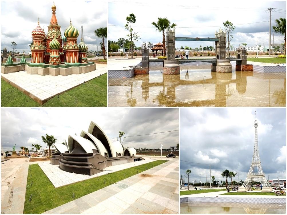 Công viên Thế Giới Kỳ Quan trở thành điểm vui chơi thú vị của cư dân và du khách
