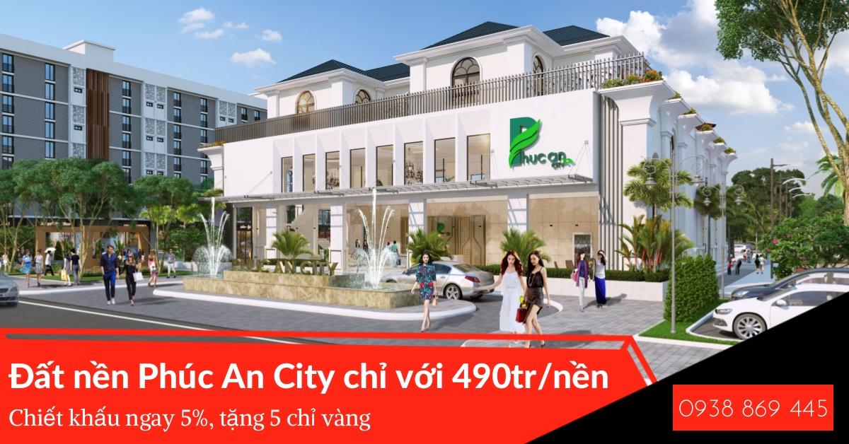 Dự án Phúc An City - Khu đô thị nhà phố liền kề tại Đức Hòa - Hình 2