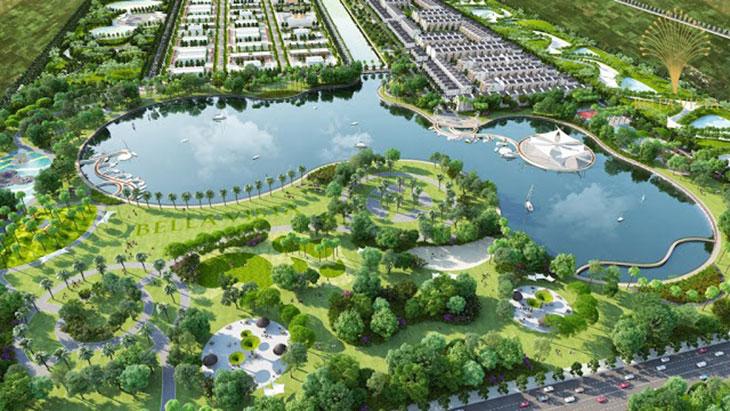 Hồ sinh thái Vị trí Khu đô thị dự án Bella Vista City