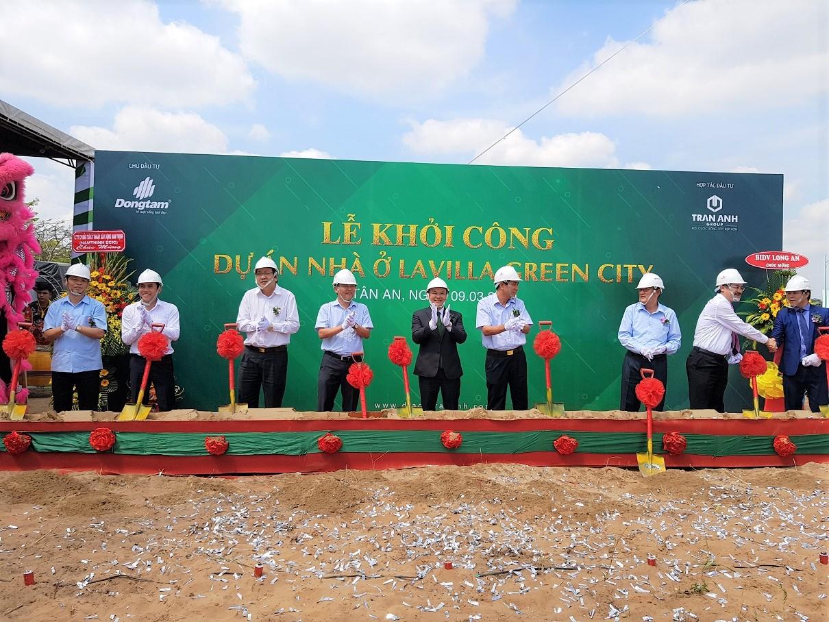 Lễ khởi công dự án nhà ở Lavilla Green City