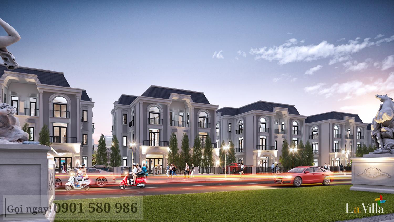 Thiết kế Tân cổ điển sang trọng tại Lavilla Green City Tân An - Hình 3
