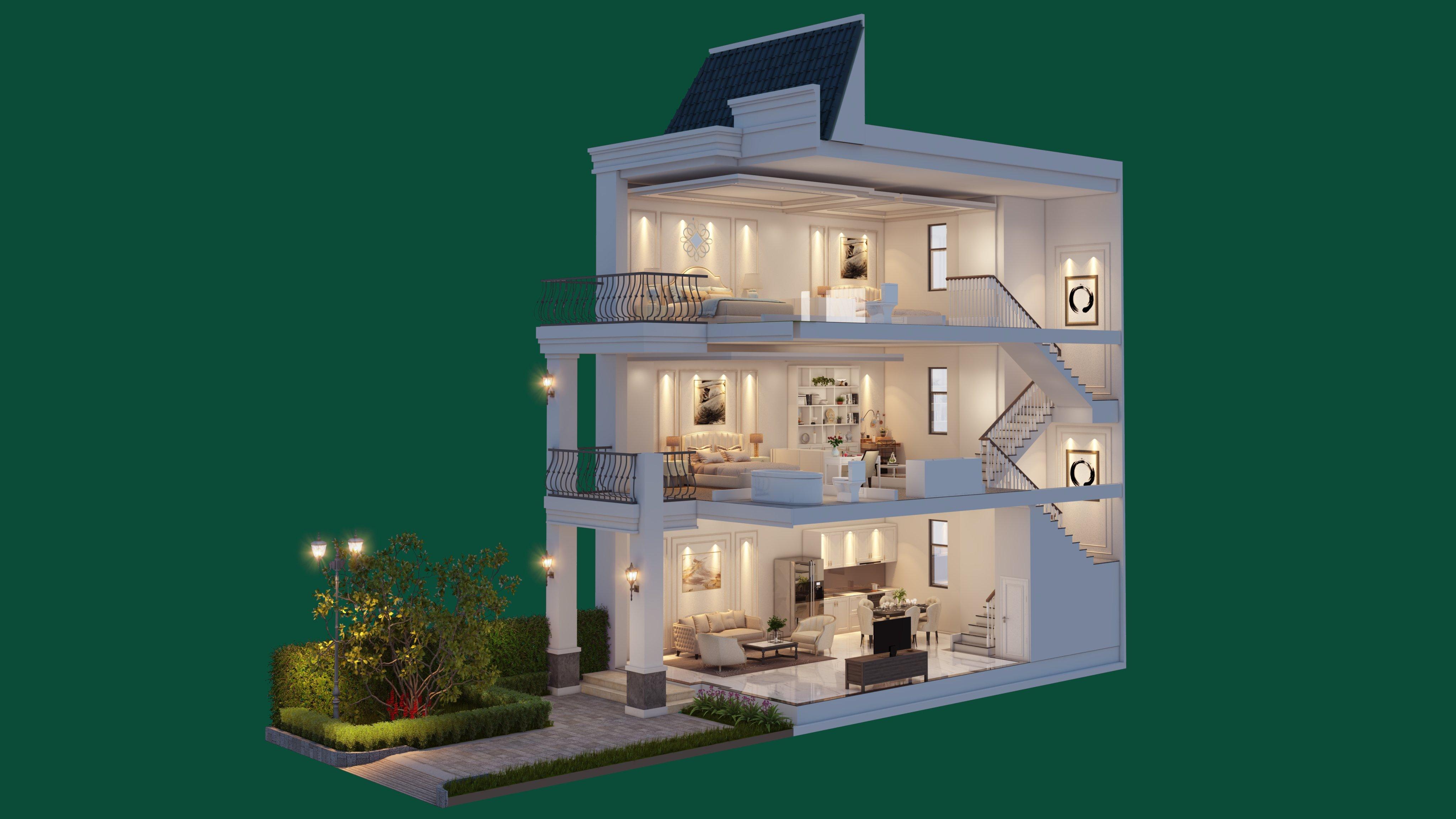 Thiết kế sang trọng - đẳng cấp bậc nhất tại Thành phố nghỉ dưỡng West Lakes Golf & Villas - Hình 3