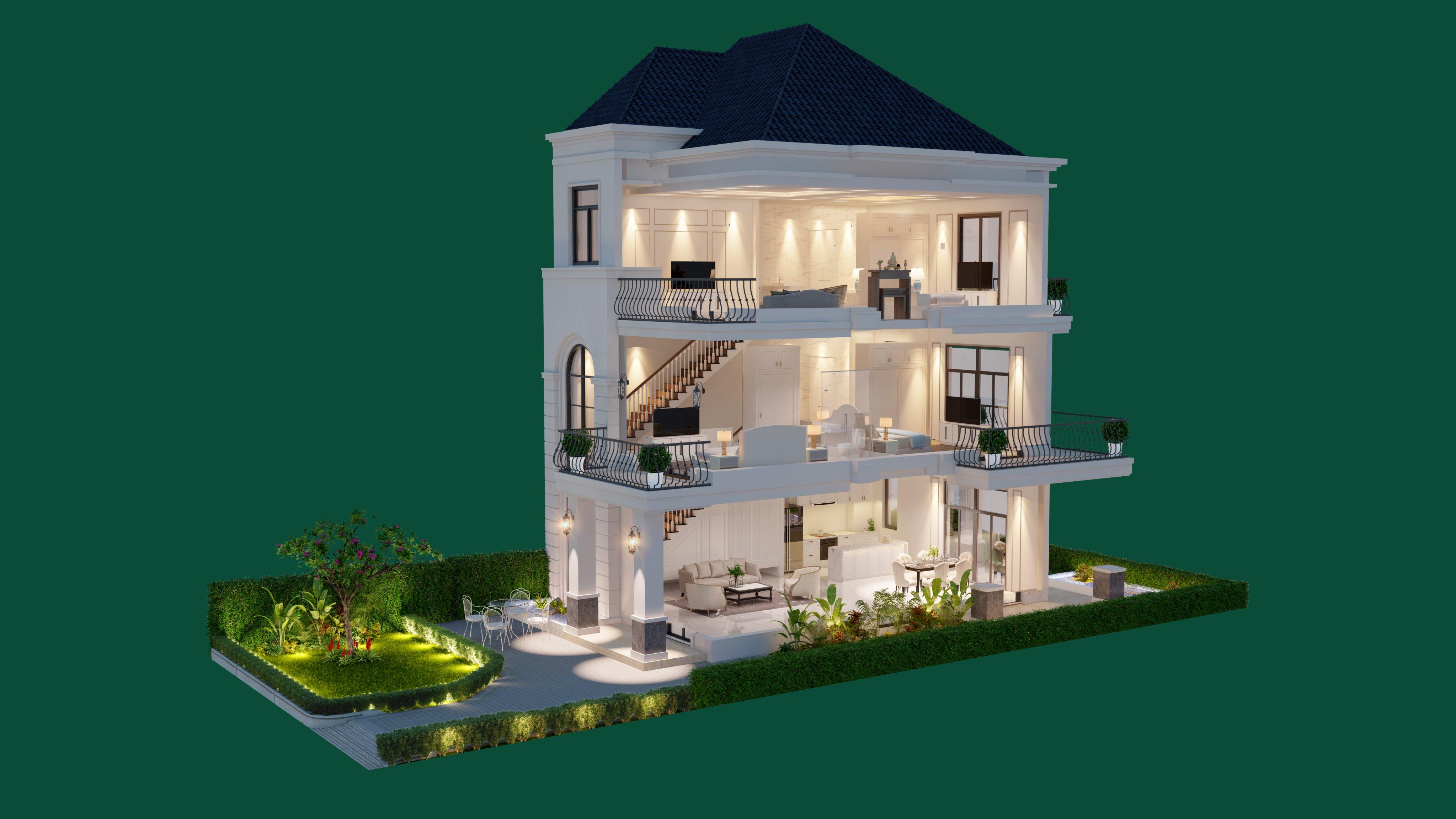 Thiết kế sang trọng - đẳng cấp bậc nhất tại Thành phố nghỉ dưỡng West Lakes Golf & Villas - Hình 4
