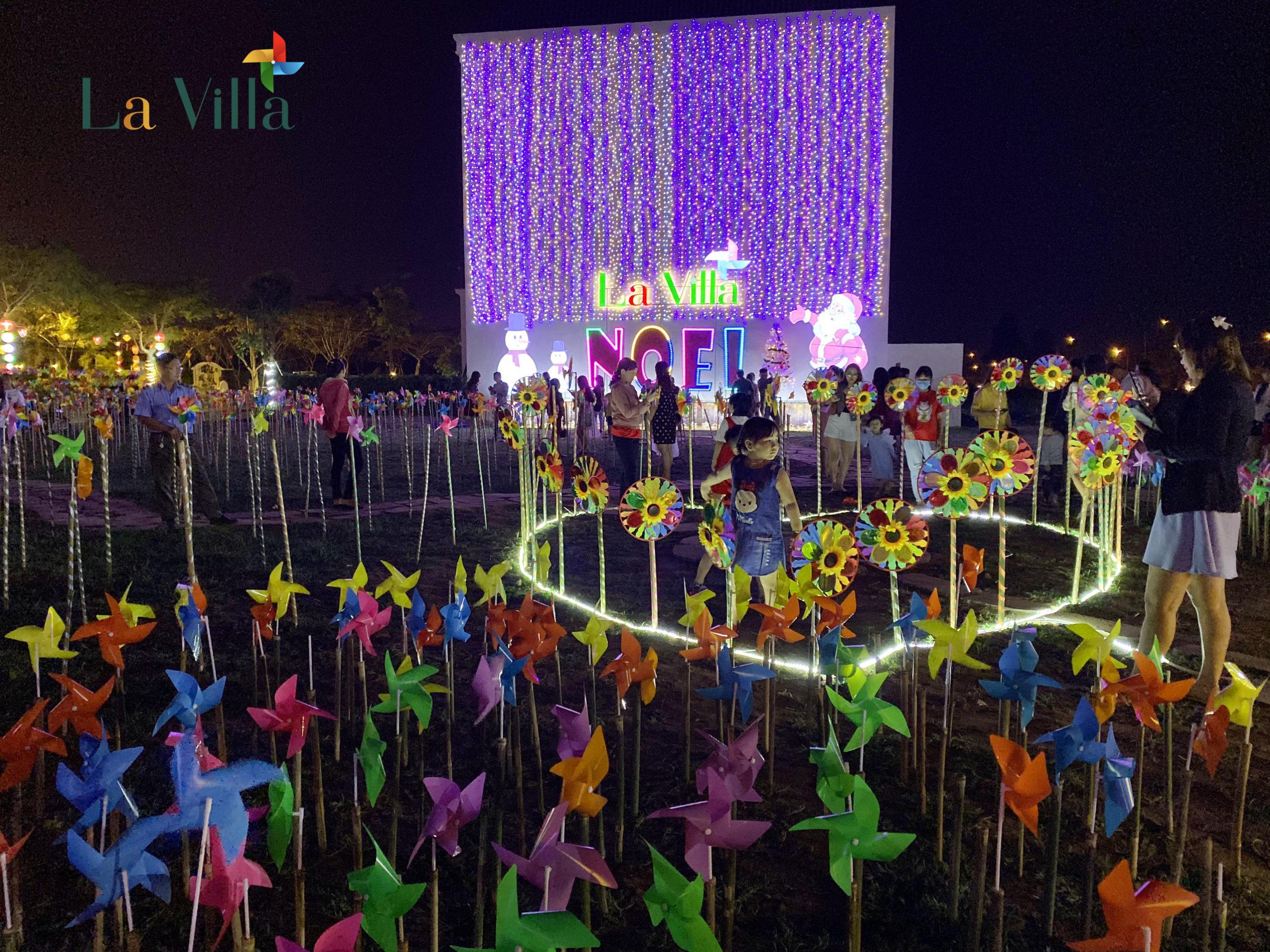 Công viên ánh sáng bên trong tiện ích nội khu của Lavilla Tân An - Hình 5